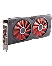 XFX RX-570P8DBD6 Radeon RX 570 RS Black Edition 1328MHz, 8gb 256bit GDDR5, DX12 VR Ready, Dual BIOS, 3xDP HDMI DVI, AMD Graphics Card
