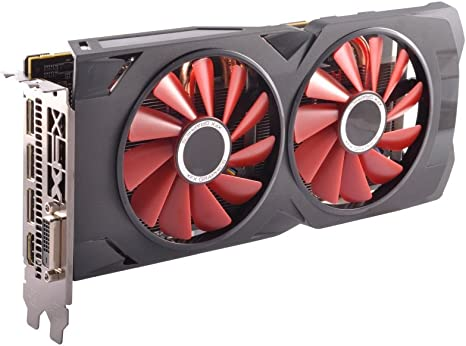 Amazon Com Xfx Radeon Rx 570 Rs Black Edition 1328mhz 8gb 256bit Gddr5 Dx12 Vr Ready Dual Bios 3xdp Hdmi Dvi Amd Graphics Card Rx 570p8dbd6 Computers Accessories