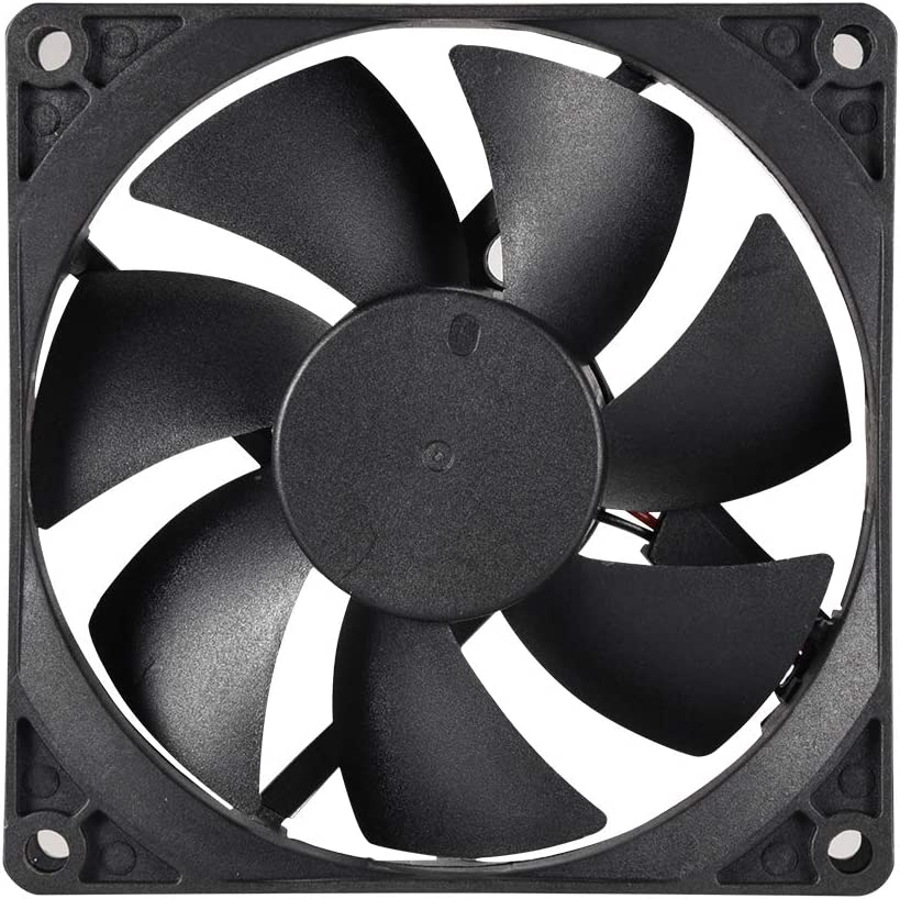 uxcell Cooling Fan 92mm x 92mm x 25mm 9225MS DC 12V 0.2A Long Life Sleeve Bearings