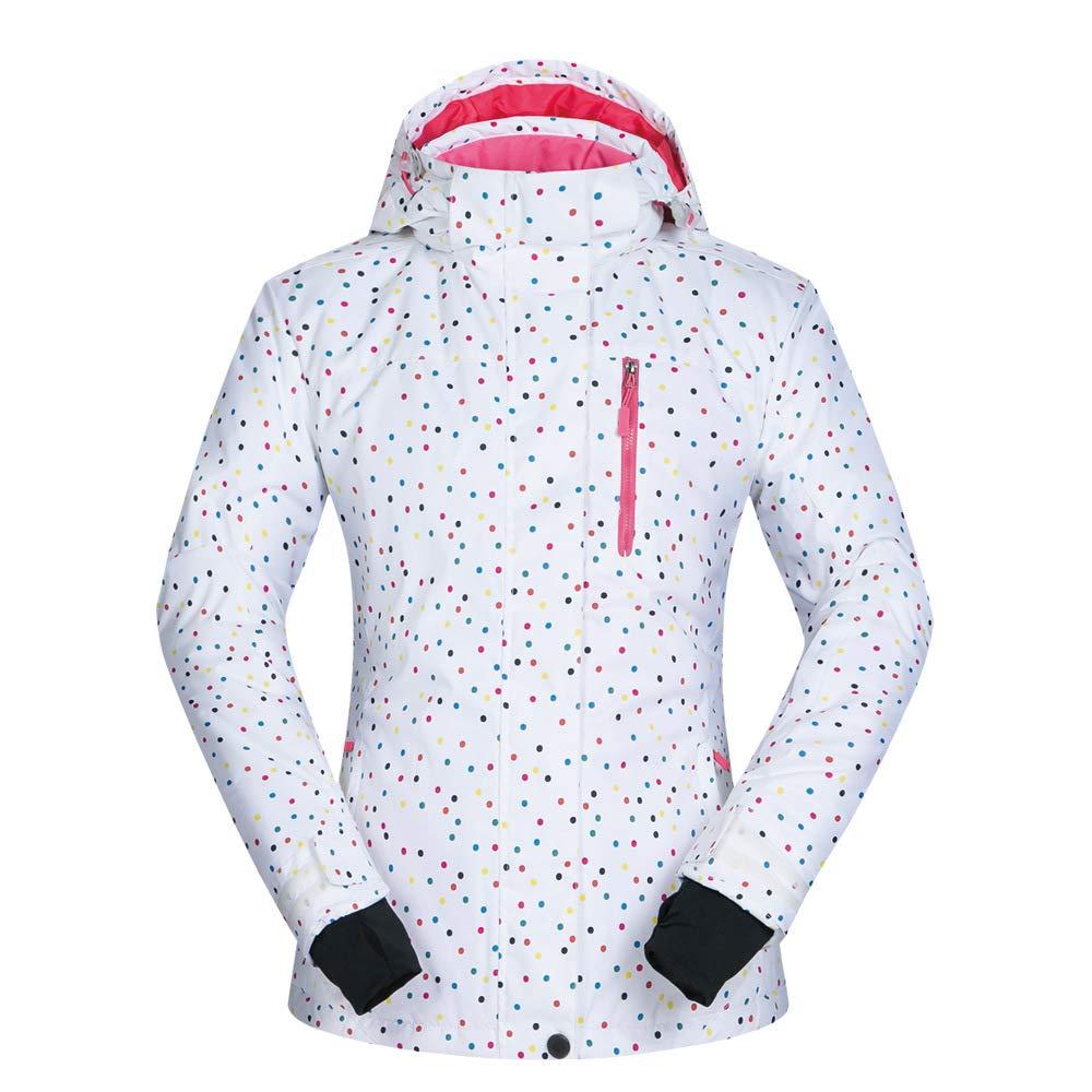 Libing Ski-Anzug Frauen Wasserdichte Skijacke Tops Outdoor-Kletter Mantel Oberbekleidung