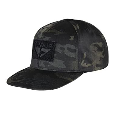 ae66873af52 Condor Men s Flat Bill Snapback Cap Multicam Black  Amazon.co.uk ...