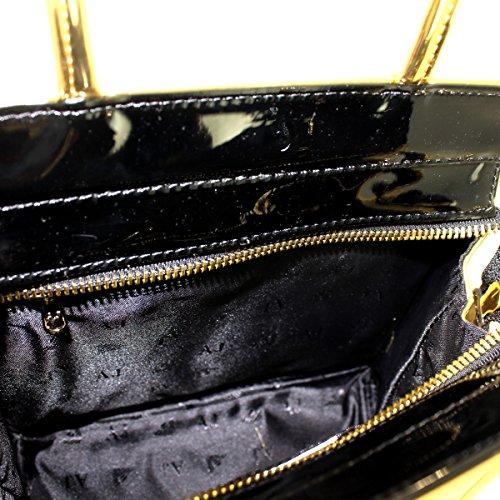 ARMANI JEANS bolso de compras Mujer 6A735 922162 00961 ORO / NEGRO Oro
