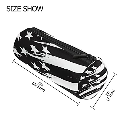 Amazon com : LORVIES Black And White American Flag Pencil