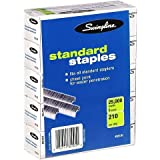Swingline Standard Staples, 1/4 Inch Length, 5 Boxes (5000/Box) (S7035101S)