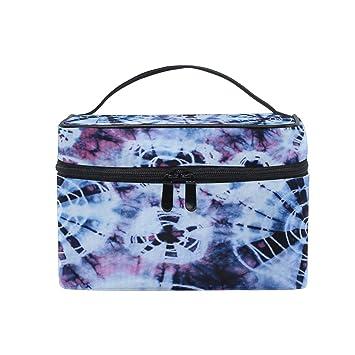6273e87b95a1 Amazon.com : Toprint Large Makeup Bag Organizer Abstract Tie Dye ...