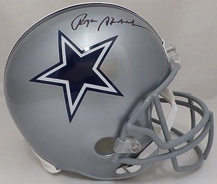 eaa3e79a Amazon.com: Roger Staubach Autographed Dallas Cowboys Full Size ...