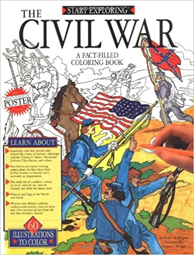 Image result for The Civil War A Fact Filled Coloring Book