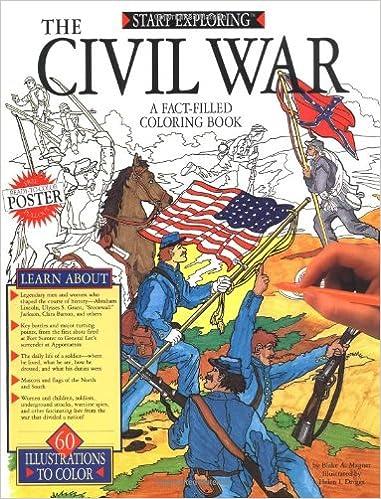 Civil War Coloring Book (Start Exploring): Blake A. Magner ...