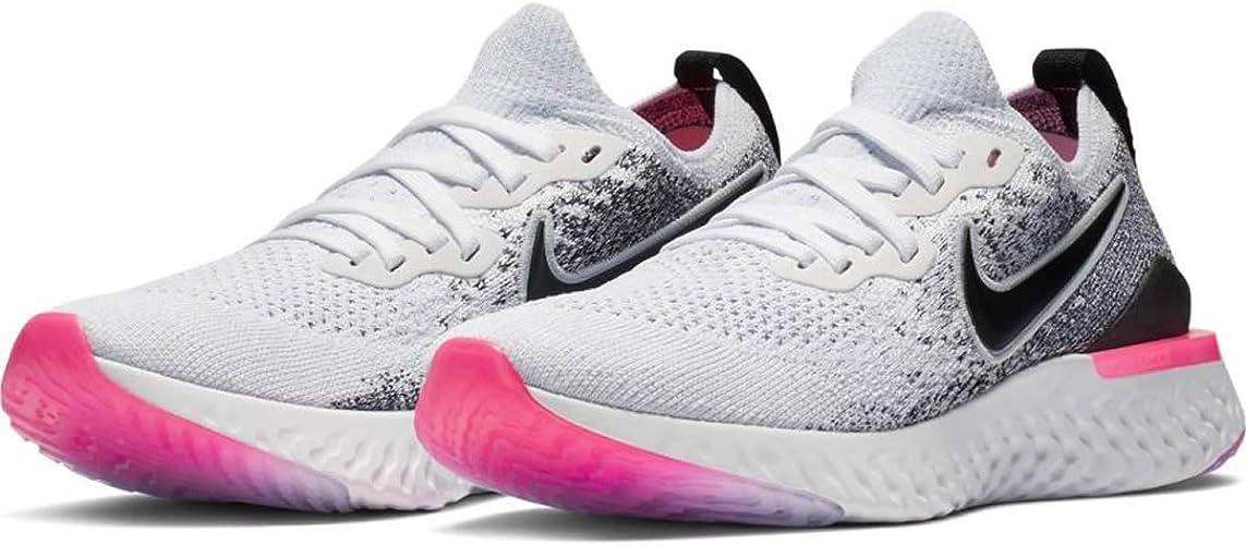 50% off cheap buy best Nike W Epic React Flyknit 2, Chaussures d'Athlétisme Femme: Amazon ...