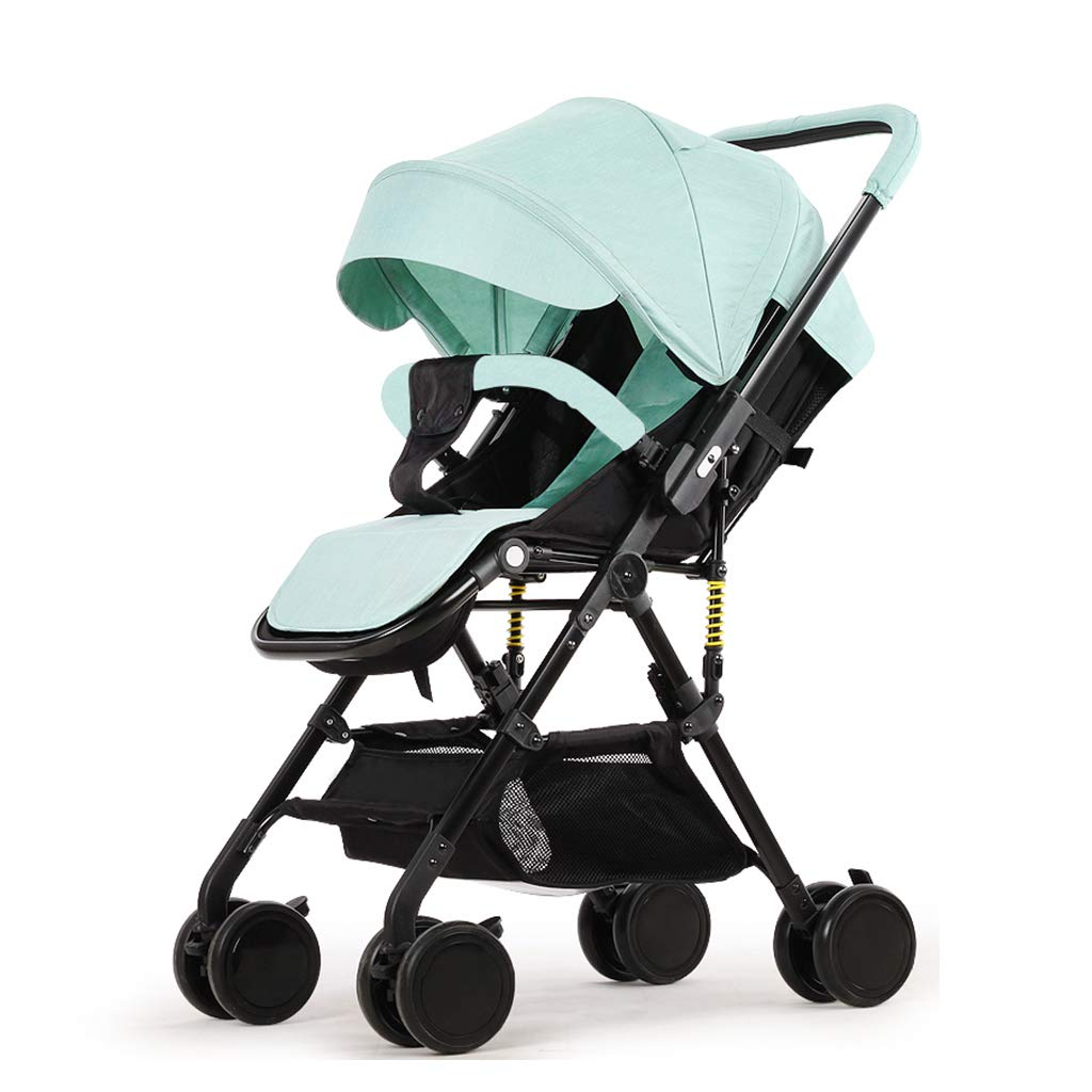 Strollers Accessories Pushchair Baby Ultralight Foldable Four Seasons Available (Color : Blue)