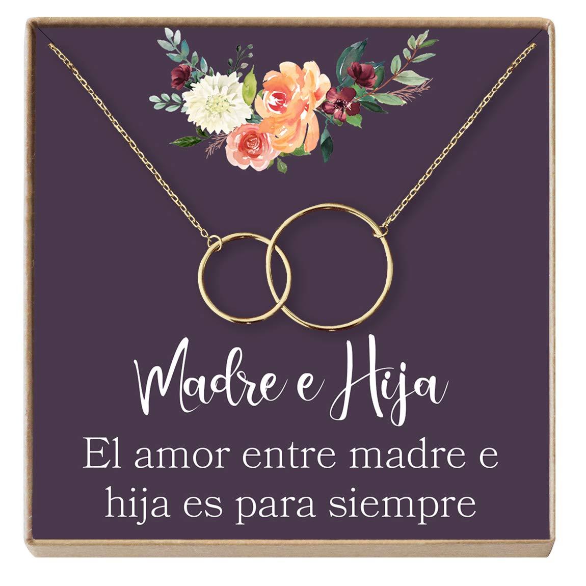 Collar Regalo Madre E Hija Dia De La Madre Cumpleanos Dia De La