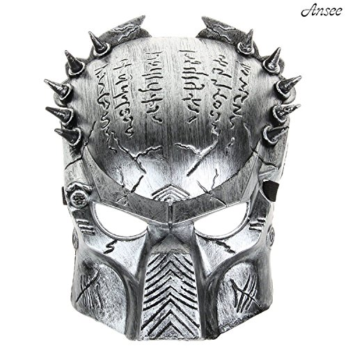 Alien vs Predator Warrior Anonymous Masquerade Costume Cartoon Outdoor Party Mask Devil Funny Face Mask Halloween