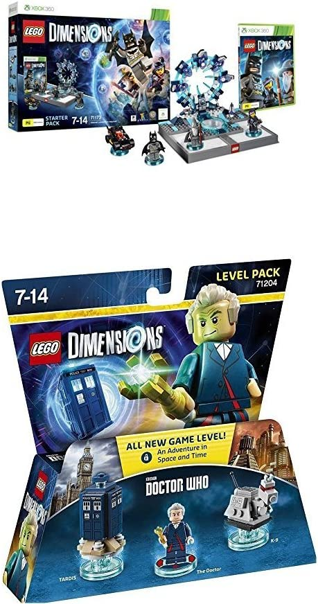 LEGO - Starter Pack Dimensions (Xbox 360) + LEGO Dimensions ...
