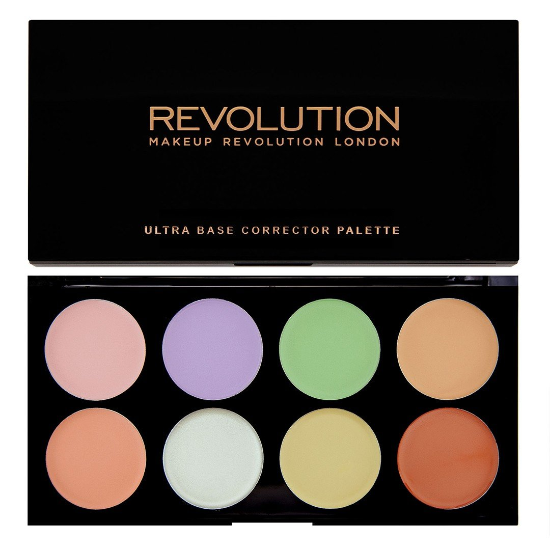 MAKEUP REVOLUTION - Ultra Base Corrector Palette 18708