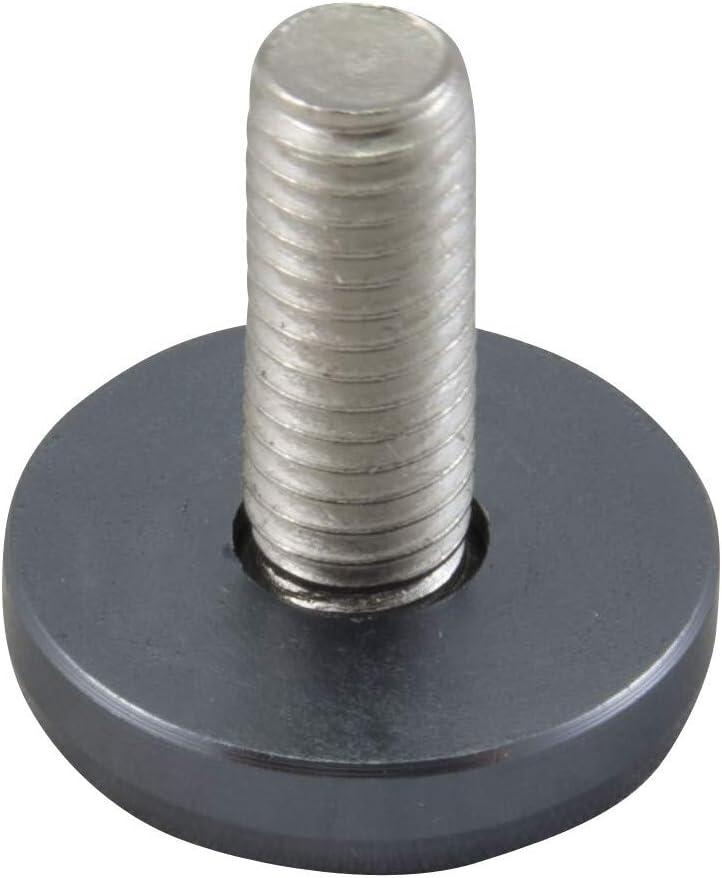 M6 Kennzeichen Kotfl/ügel Schrauben m Alu Unterlegscheiben Fender Washer Grau
