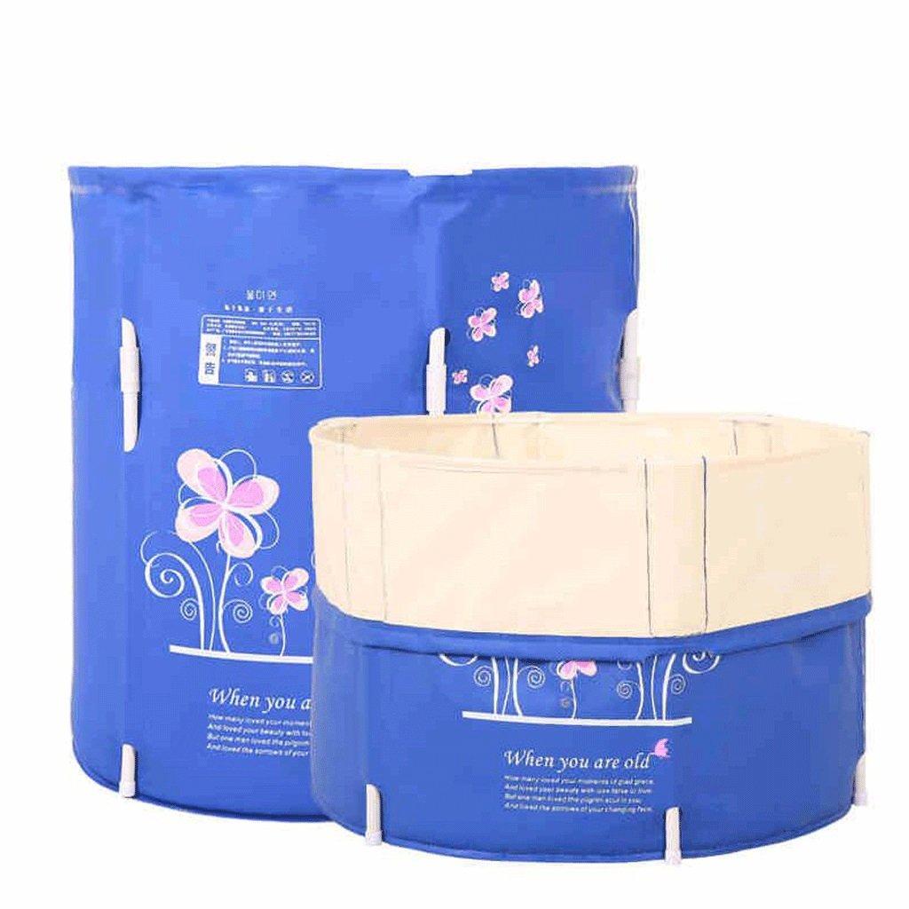 FHK,vasca da bagno pieghevole Può essere piegato pieghevole Bagni Botti Vasca da bagno per adulti ispessimento di plastica gonfiabile Vasca da bagno vasca da bagno gonfiabile, canna da bagno