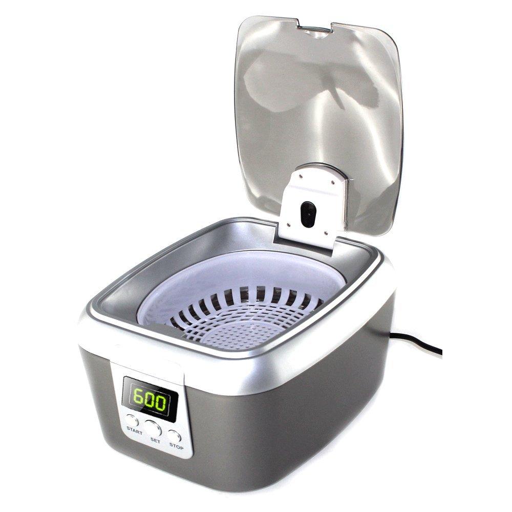 Limpiador ultrasonidos capacidad 0.6L - Pantalla Digital para selección de la duración: Amazon.es: Hogar