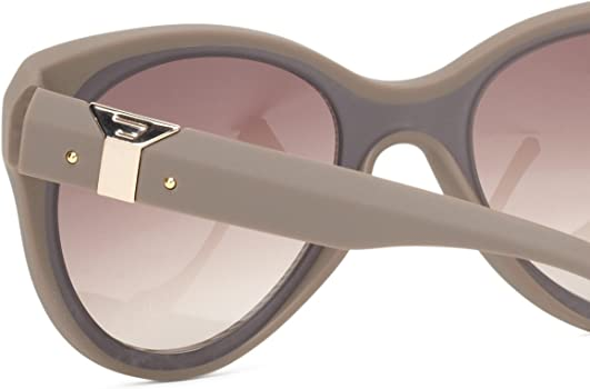 Amazon.com: Diesel dl00325556 F Cat-eye anteojos de sol ...