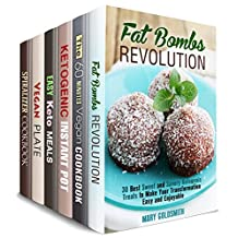Keto and Vegetarian Box Set (6 in 1): Over 200 Best Ketogenic, Vegetarian and Vegan Recipes for Cooking Quick, Easy and Weight Loss Meals (Diet & Weight Loss)