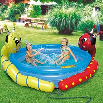 Royalbeach Double Splash - Piscina hinchable: Amazon.es: Juguetes ...