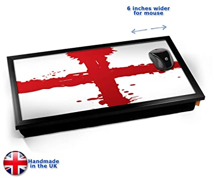 St Georges Flag England Computer Laptop Tray Cojín Bandeja ...