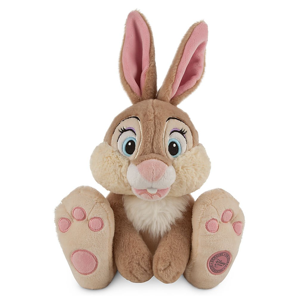 Amazon.com: Disney Miss Bunny Plush - Bambi - Medium - 14 Inch: Toys & Games