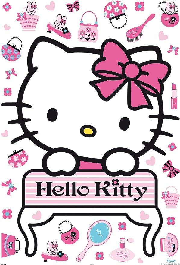 Decofun 41360 Hello Kitty Maxi Sticker Küche Haushalt
