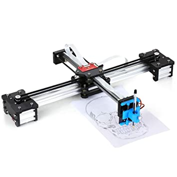 Fesjoy Escritorio DIY Montado XY Plotter Pluma Dibujo Robot Máquina de Dibujo de Escritura A Mano Kit de Robot 100-240V