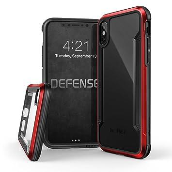 a40c619a62e iPhone X Case, X-Doria Defense Shield Series, Military Grade Drop Tested,