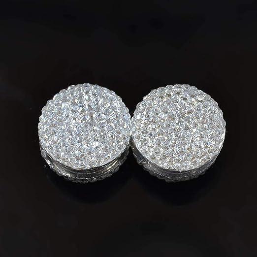 Faderr Magnetische Pin Kopftuch Abaya Verschluss Schal Schal Magnet Pin, weiß, Free Size