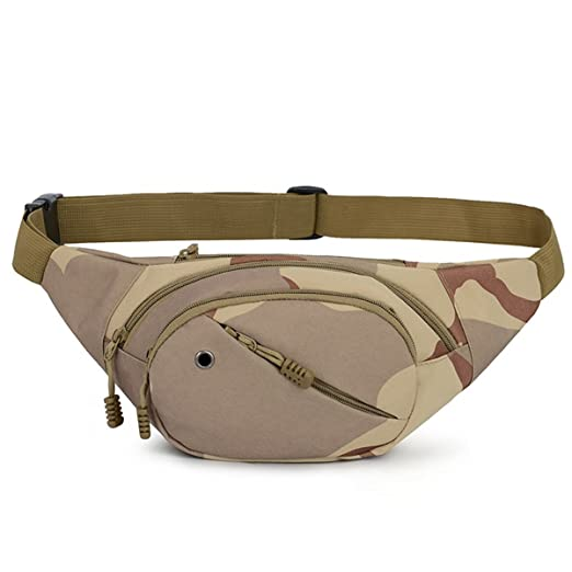 085c7a9c8942 Military Outdoor Bag Travel Belly Waist Bum Bag Tactical Pack Running  Jogging Cycling Belt Pouch Pack