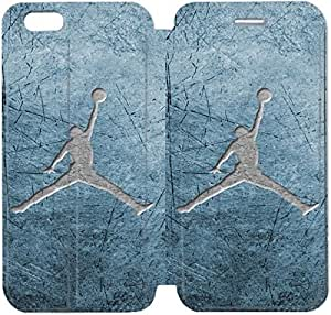 Fashion Style Michael Jordan Phone case Thin Slim Flip Leather Case Cover For iPhone 6 4.7 inch OOL2959861