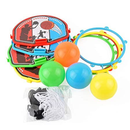 Ocamo - Aro de Baloncesto para Puerta con minibalón para niños ...