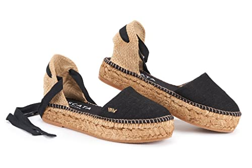 Amazon.com: VISCATA Montgo Flatform Sandalia, Soft ankle-tie ...