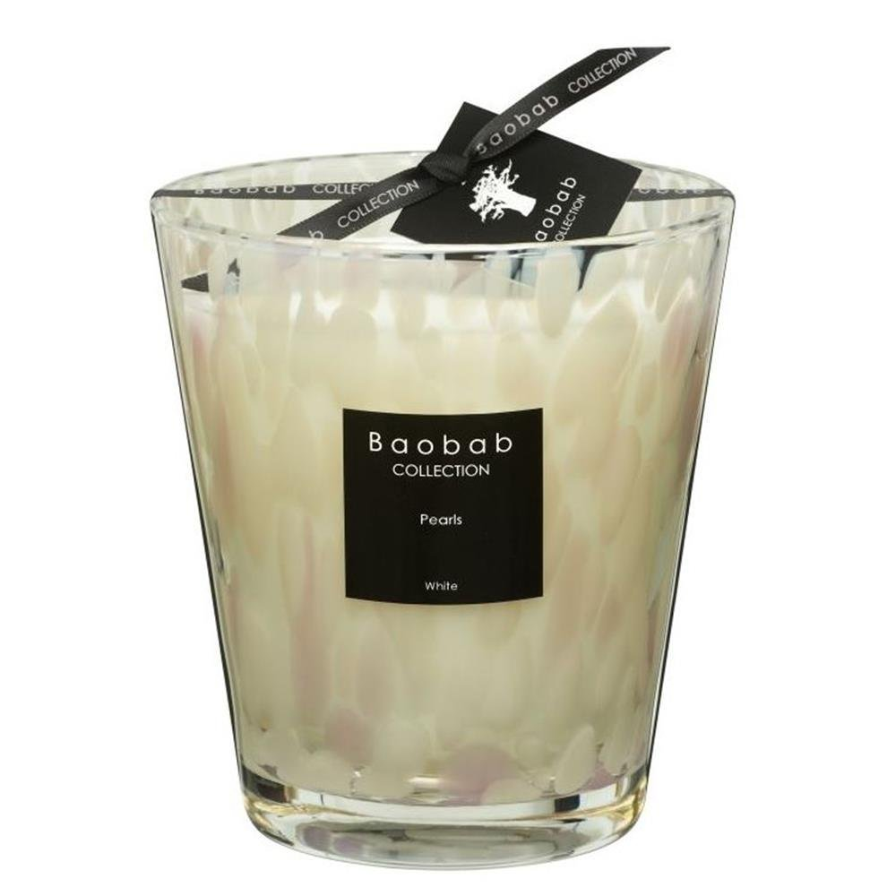 Baobab MAX16PW Pearls White Candle Candle Wax – 16 x 10 x 16 cm by Baobab (Image #1)