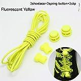 WEIHUIMEI 1Pairs Elastische Schnürsenkel geeignet für Sport und Freizeitschuhe Schnellverschluss für den idealen Halt der Schuhe