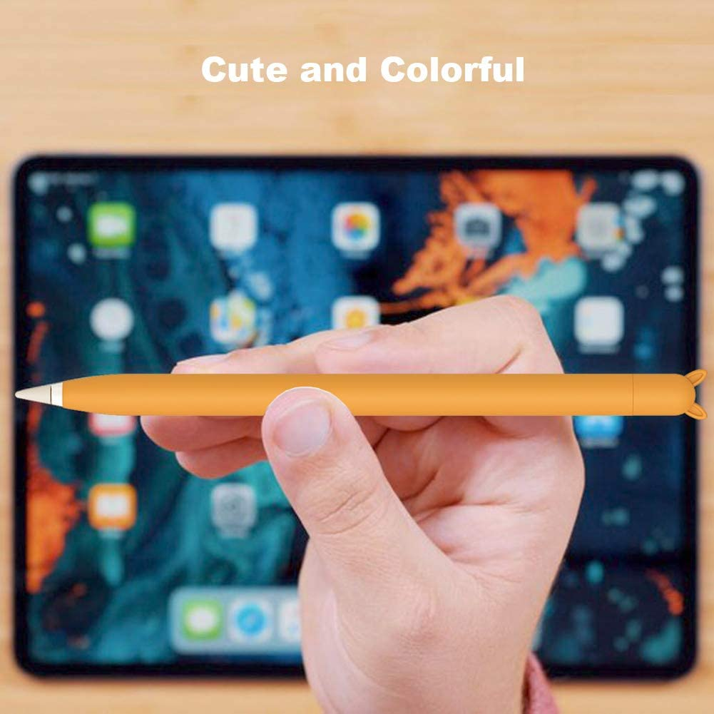 Purple Cute Case for Apple Pencil Grip for Apple Pencil Accessories for Apple Pencil 1st Generation Sleeve Holder for Apple Pencil with Protective Nib Cover for Apple Pencil