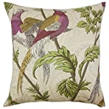 The Pillow Collection Laoise Graphic Floor Pillow Sesame