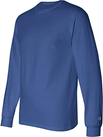 5020073b5c5d Champion 5.2 oz. Long-Sleeve T-Shirt (CC8C)- ROYAL BLUE