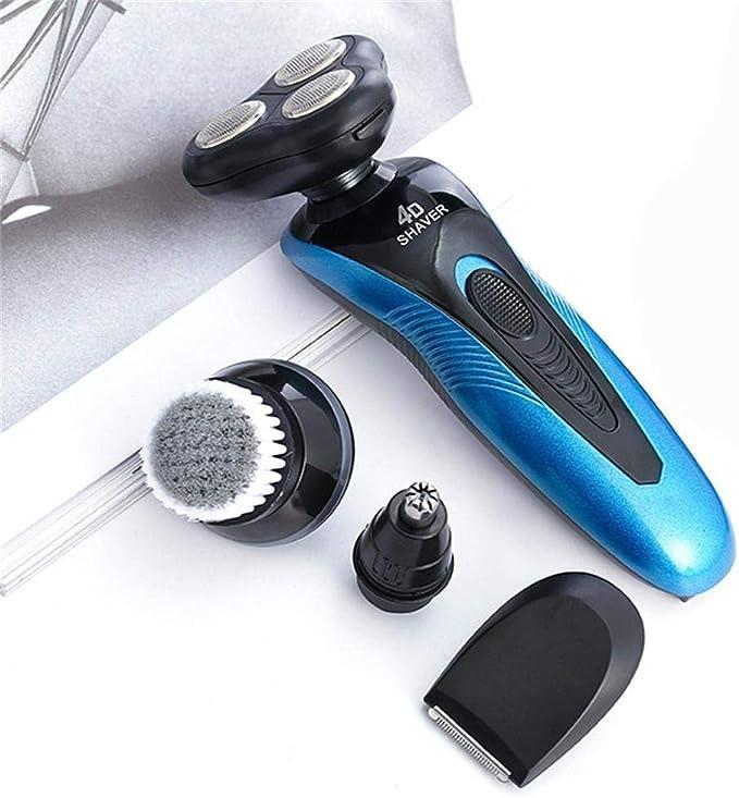 Dinoek Afeitadora eléctrica para barba flotante multifunción ...