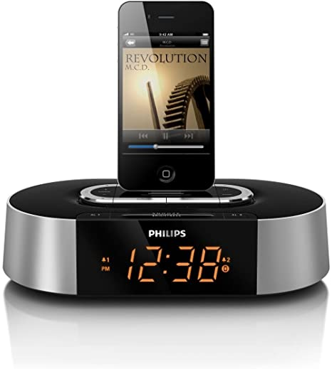 Philips Radio reloj - Despertador (LCD, 144 mm, 144 mm, 62 mm
