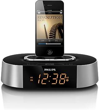 Philips Radio reloj - Despertador (LCD, 144 mm, 144 mm, 62 mm