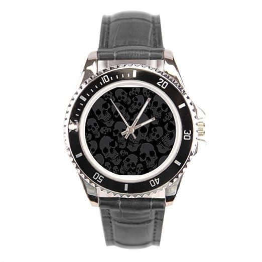 d4c7a6753469 Dr. Koo Hitman piel Facebook funda de piel Para Hombre Reloj para hombre  relojes  Amazon.es  Relojes