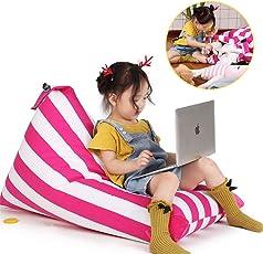 Stuffed Animal Bean Bag Chair for Kids and Adults