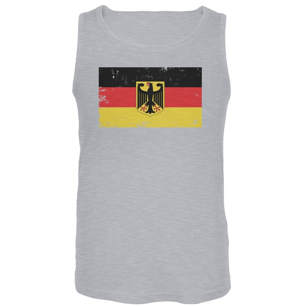 Old Glory Germany Distressed Flag Tank Top