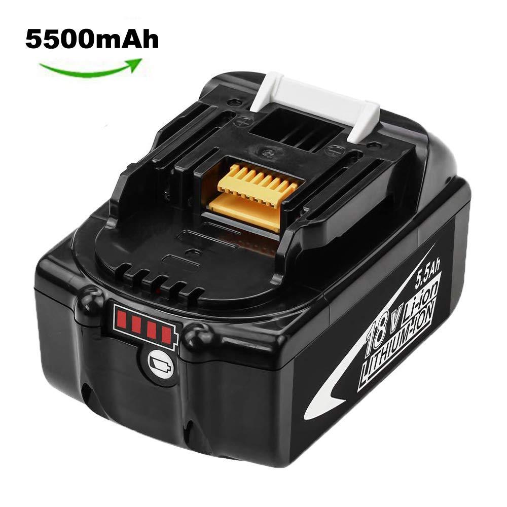 Hochstern RB18L50 5.0Ah Remplacement pour Ryobi 18V Batterie ONE RB18L40 RB18L25 RB18L15 RB18L13 P108 P107 P122 P104 P105 P102 P103 Outil sans fil