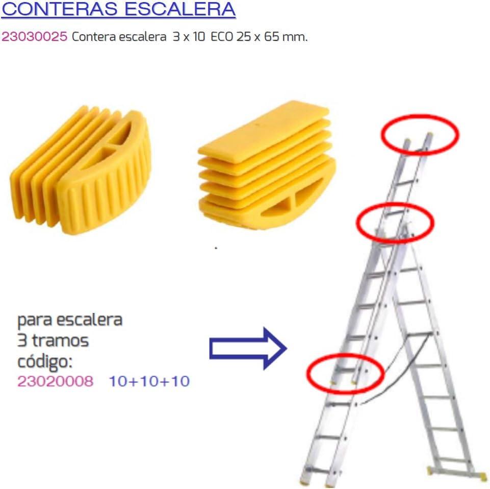 MAURER 23030025 Contera Escalera 3 Tramos 10 Eco 25x65mm: Amazon ...