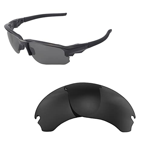 445f8212228 Walleva Replacement Lenses for Oakley Flak Draft - Multiple Options (Black)