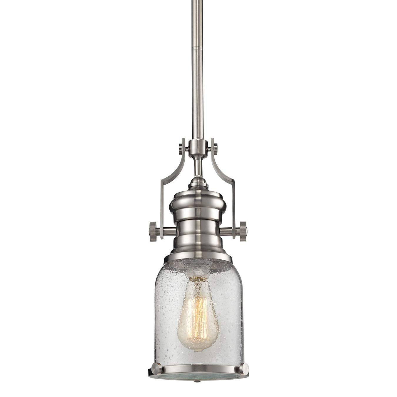 Elk Lighting 67742-1 Ceiling-Pendant-fixtures Nickel
