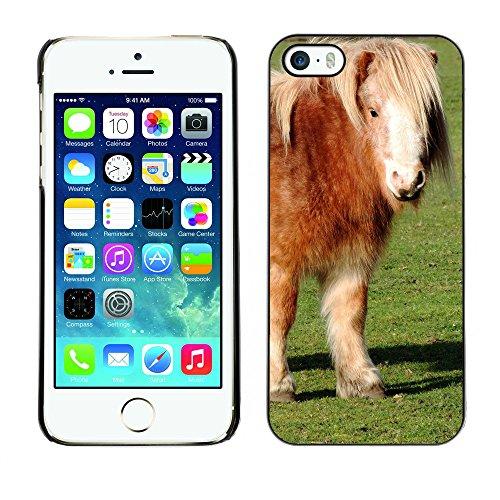Premio Sottile Slim Cassa Custodia Case Cover Shell // F00011176 poney // Apple iPhone 5 5S 5G